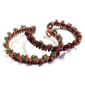 Beaded and Zipped Bracelet