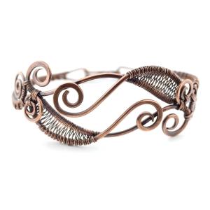 Calligraphy Cuff Bracelet