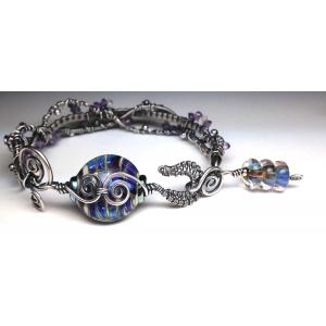 Embellished Hook, Line and Sinker Bracelet